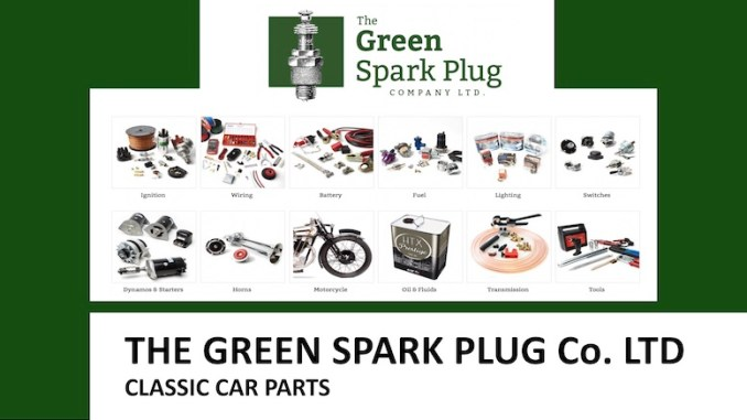 THE LITTLE GREEN SPARK PLUG COMPANY in SCOTTYS Supplier Library