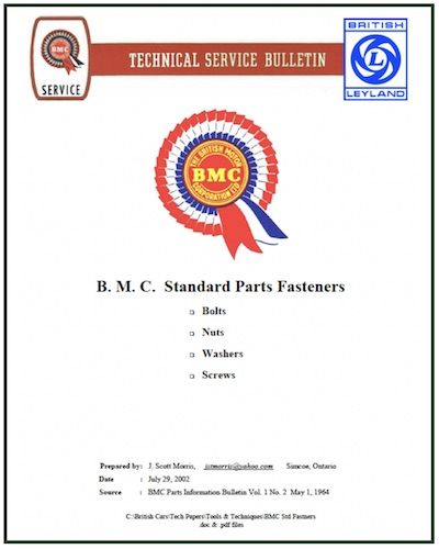 BMC TECHNICAL BULLETIN in SCOTTYS Technical Library