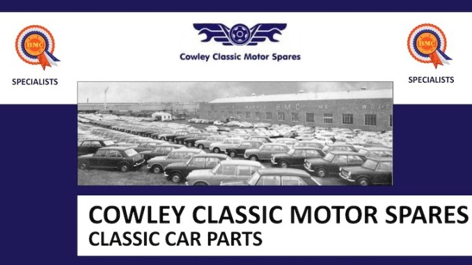 COWLEY CLASSIC MOTOR SPARES