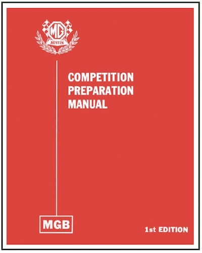MGB COMPETITION PREPARATION MANUAL PDF