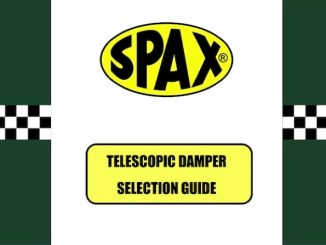 SPAX SUSPENSION SELECTION GUIDE 2020