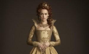 Rachel as Elizabeth I on Reign