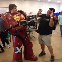 Really Sweet Blood Angels Cosplay