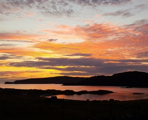 Another sunset on Scourie Bay