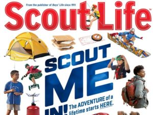 Scout Life first cover