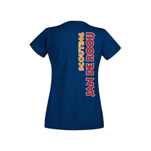 T-shirt Dames Achterkant