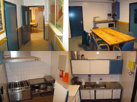 Keuken en centrale ruimte