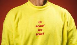 """IN SCOUT WE TRUST"" SWEATER"