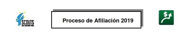 Pautas del Proceso de Afiliación 2019