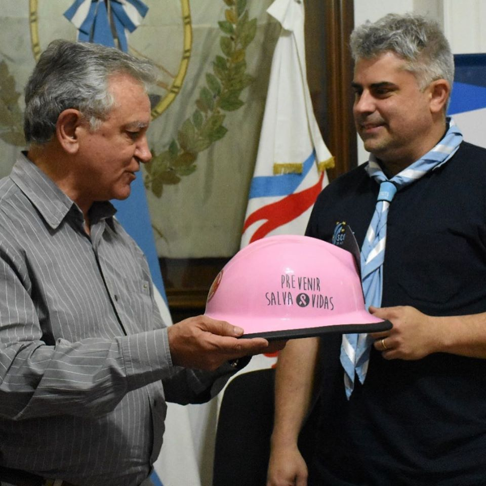 Scouts de Argentina sellan alianza con Bomberos Voluntarios de Argentina