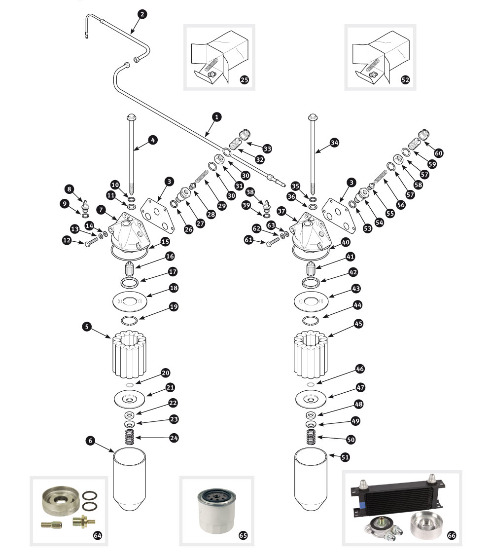 Parts for jaguar xk120 xk140 and xk150 oil filter xk120 and porsche wiring diagram jaguar xk120 wiring diagram
