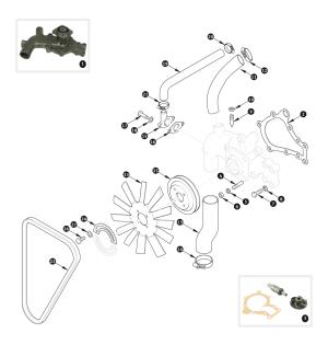 [2010 Jaguar Xk Fan Belt Repair]  Serpentine Drive Belt Alternator For Jaguar Xf Xj Xjr Xk Xkr