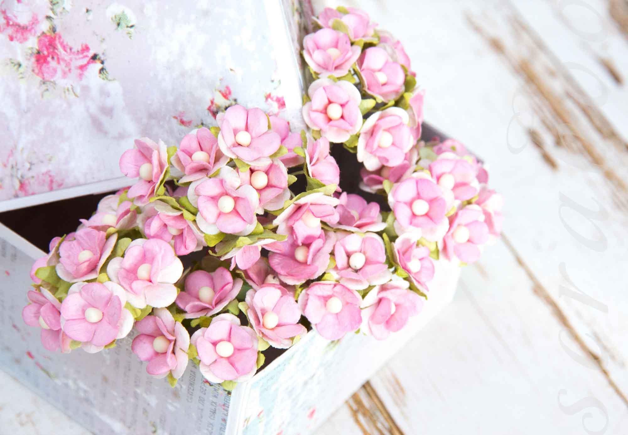 Τα λουλούδια χαρτιού το κάνουν μόνοι σας