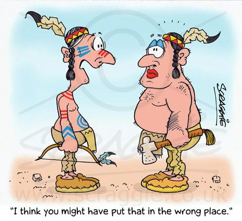 Cartoons Gallery American Indian Cartoon