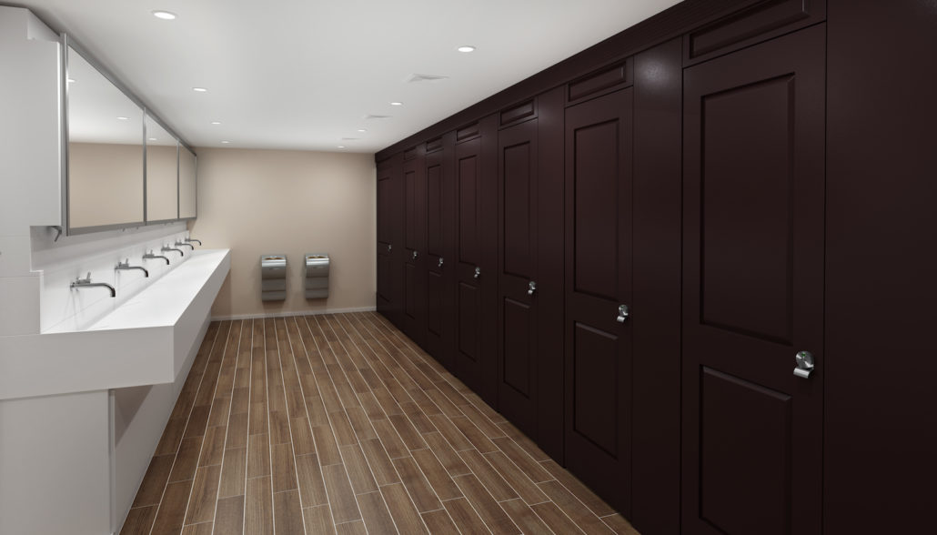 Full Height Toilet Partitions - Aria Partitions | Scranton Products