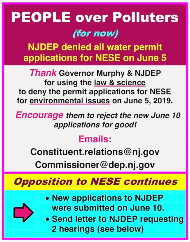 Poster image with text that says 'PEOPLE over Polluters