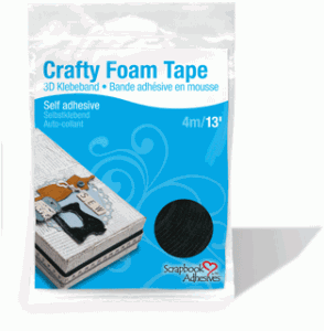 Crafty Foam Tape Black