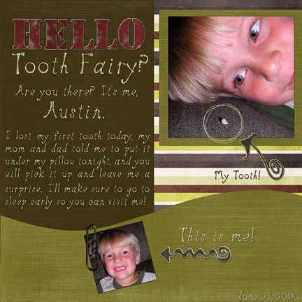 Hello Tooth Fairy