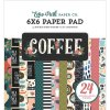 Coffee Collection 6 x 6 Paper Pad by Echo Park