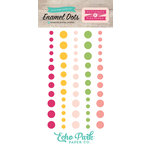 Echo Park - Petticoats and Pinstripes Collection - Girl - Enamel Dots