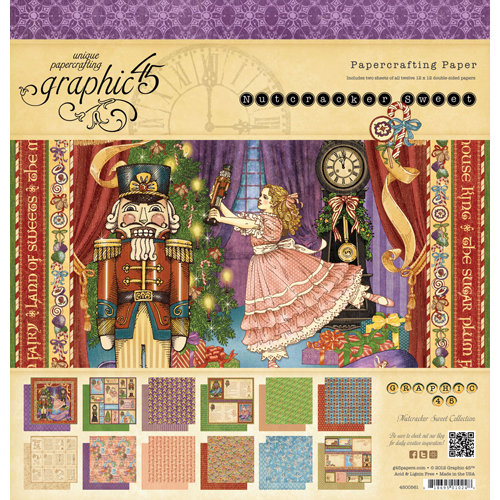 Graphic 45 Nutcracker Sweet Collection Christmas 12