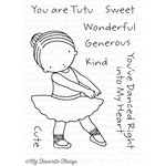 My Favorite Things - Pure Innocence - Clear Acrylic Stamps - Tutu Cute