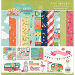 PhotoPlay Paper - Happy Glamper Collection - 12 x 12 Collection Pack