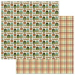 Photo Play Paper - Real Genius Collection - 12 x 12 Double Sided Paper - Backpack