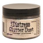 Ranger Ink - Tim Holtz - Distress Glitter Dust - Vintage Platinum