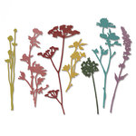 Sizzix - Tim Holtz - Alterations Collection - Thinlits Die - Wildflowers