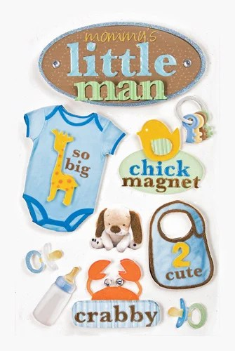 Paper House Productions Baby Boy Collection 3