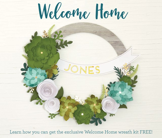 Welcome Home Wreath