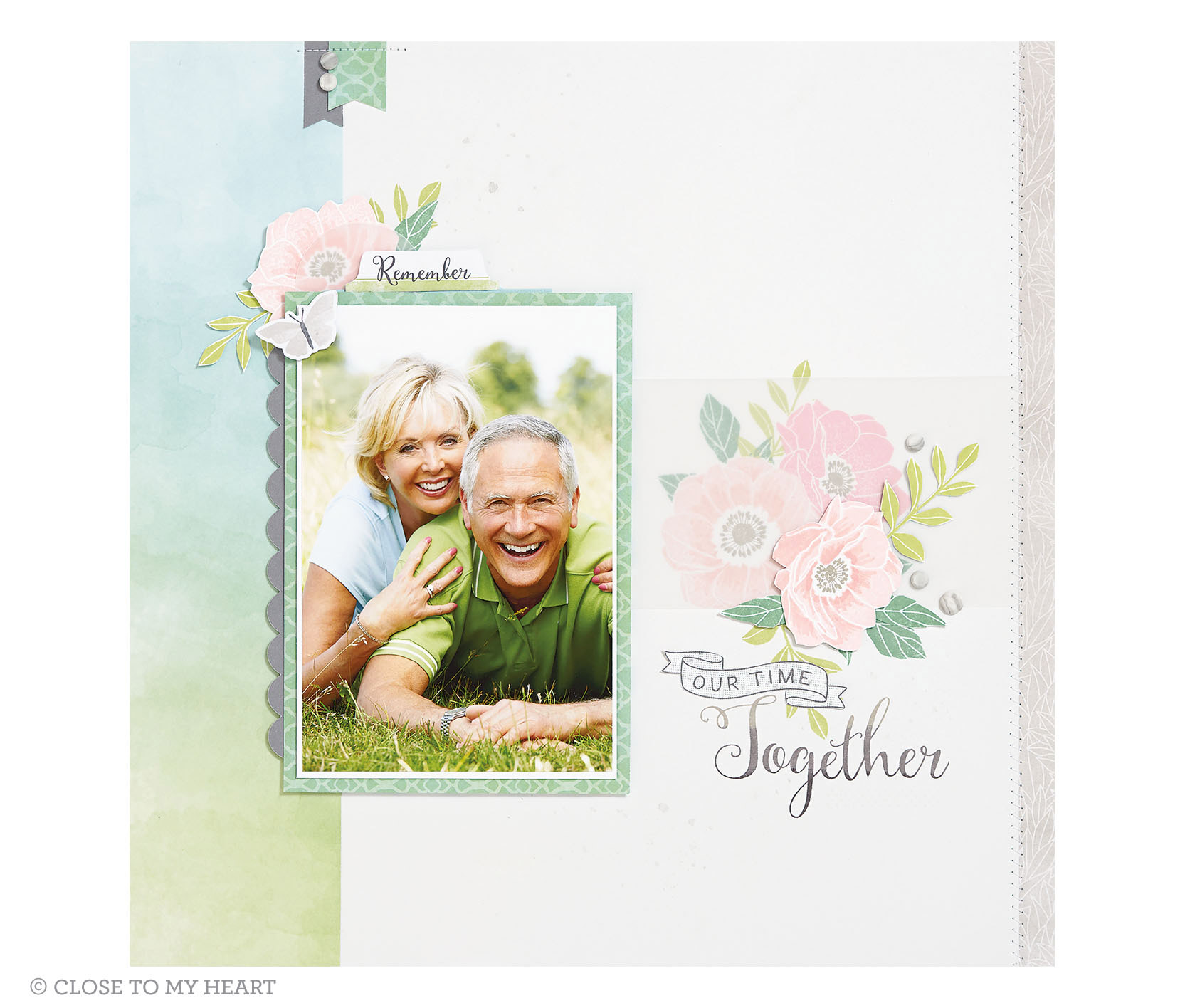 Chelsea Gardens Scrapbook Layout