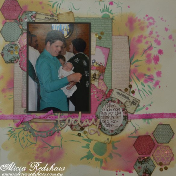 Scrapbooking Class with Alicia Redshaw