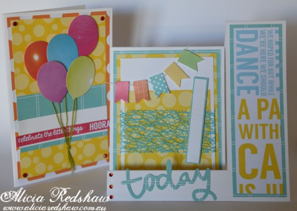 Cardmaking Class with Alicia Redshaw