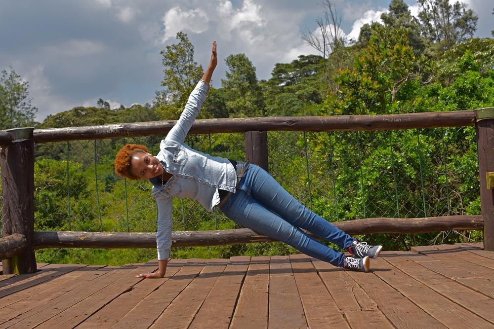 Yoga side plank