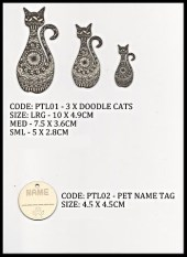 Pets Laser Cuts 002