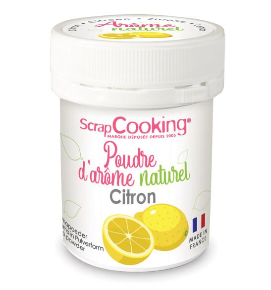 pot de poudre d arome naturel citron