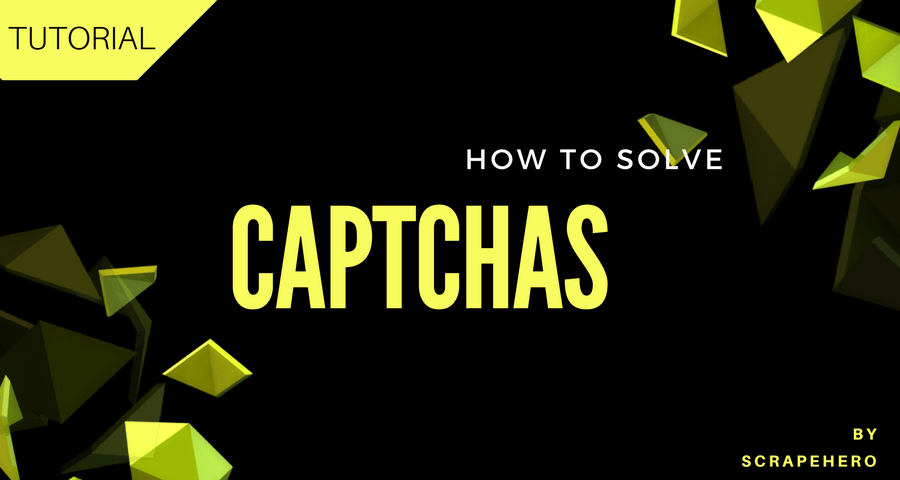 How to Solve Simple Captchas using Python Tesseract