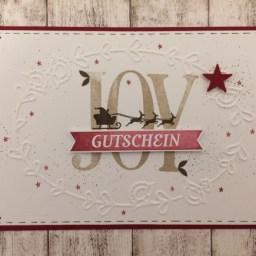 Gutschein JOY-1