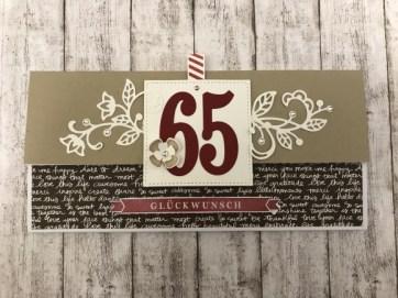 Zum 65.Geburtstag