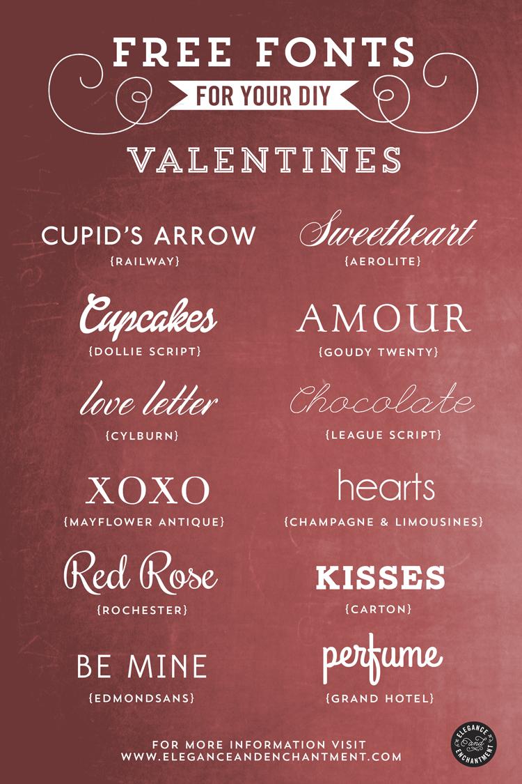 Free Valentine Fonts Die Cut Fonts Scrap Me Quick Designs