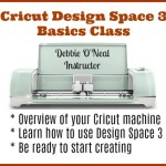 Cricut Design Space 3 Online Class