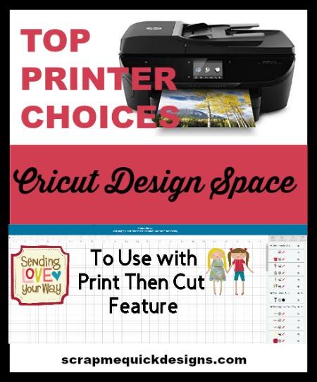 Top Printer Choices for Cricut Print Then Cut - Scrap Me
