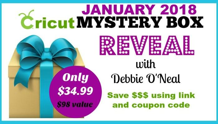 January Cricut Mystery Box is Ready !