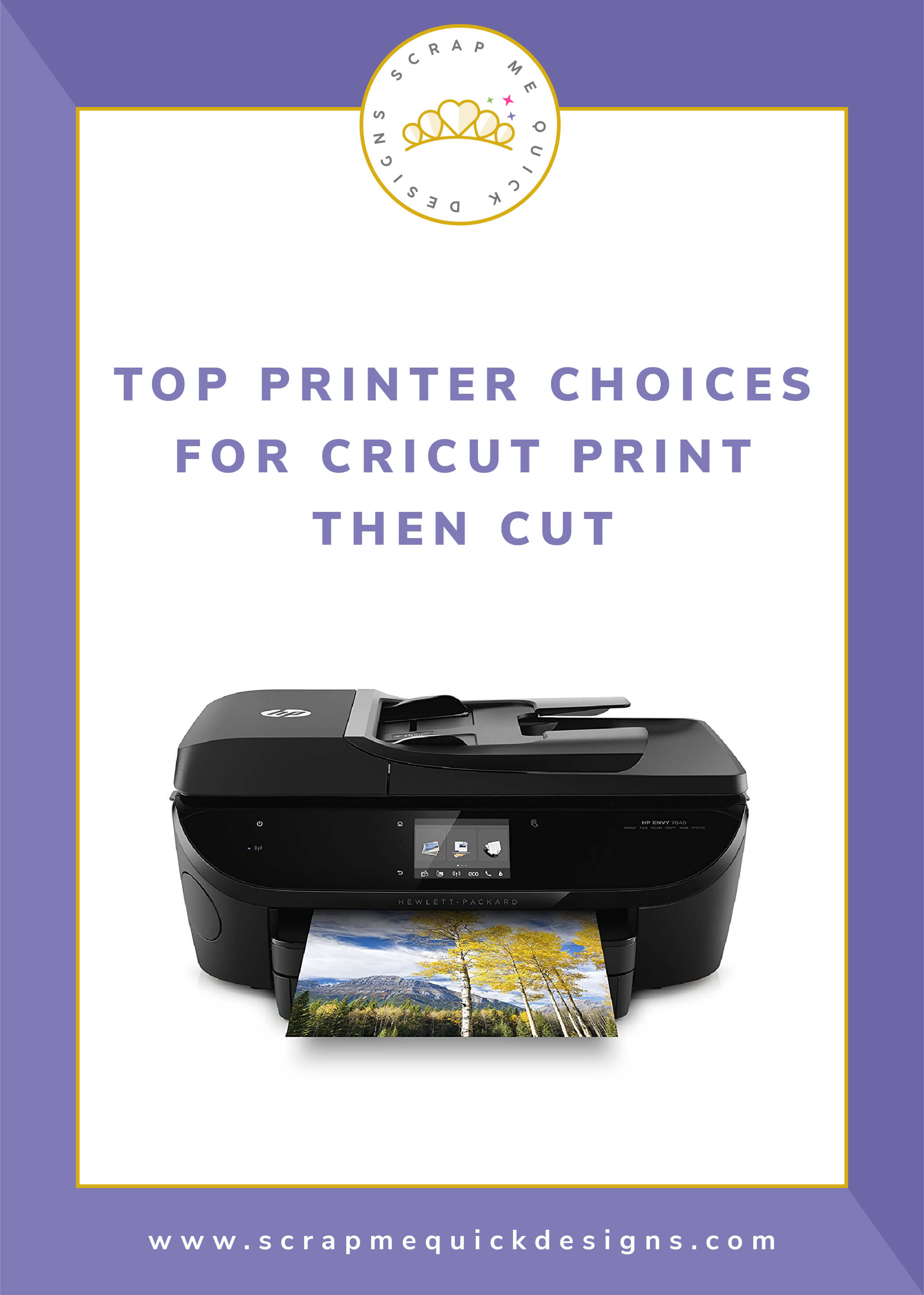 Top Printer Choices for Cricut Print Then Cut - Scrap Me