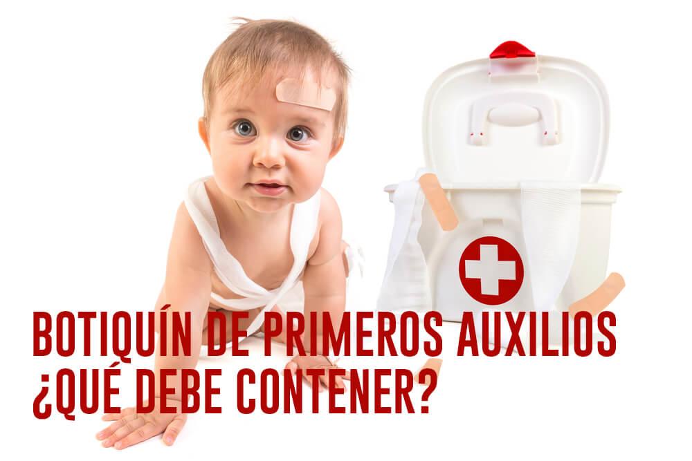 Botiquín de Primeros Auxilios - ¿Qué Debe Contener?