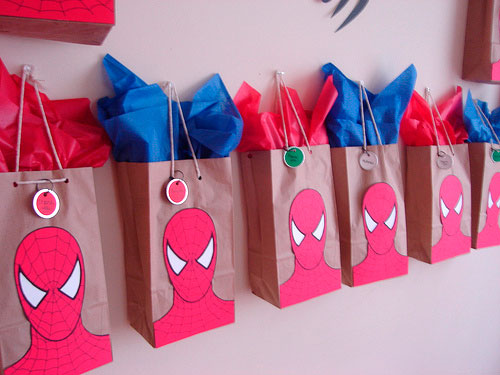 bolsas spiderman