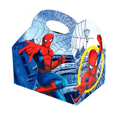 caja spiderman chuches
