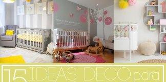 ideas para las habitaciones de bebés